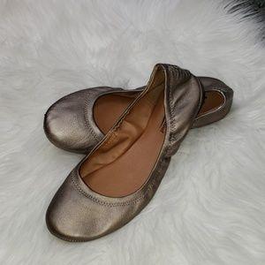 {🍀 Lucky Brand} Bronze Flats